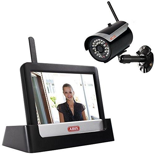 ABUS 598777 Heim Videoset TVAC16000A inkl. IR Funk-Außenkamera TVAC16010A + Touchscreen, STANDARD