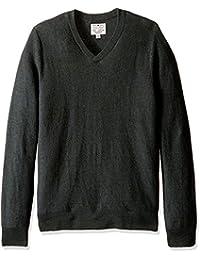 Lucky Brand Men's Ventura V-Neck Sweater in Olive