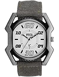 Youth Club Ultimate Stylish Analog White Dial Boy's Watch-FT-1000STN