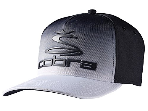 Cobra Youth Tour Fade Cap Black/White