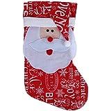 Amazingdeal365 Decoraciones Para Árboles De Navidad De Navidad, Bolsa de Calcetín Ornamentos Colgantes (C)
