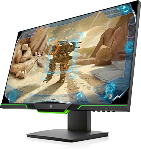 HP 25x -  Monitor gaming de 24.5   con pantalla Full HD (TN 1ms,  AMD FreeSync,  144 Hz,  Low Blue Light,  1920 x 1080 píxeles,  ajustable en altura)