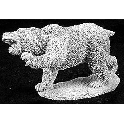 Reaper Miniatures 2878 - Leyendas Oscuras: terror eslingado oso (sin pintar) [Importado de