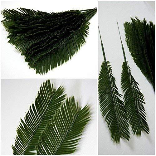 Simple house Künstliche Palmenblätter,12 Stück Palmwedel Kunstpalmen Künstliche Blätter Deko künstliche Floristik Strauß,Cb 42