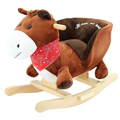 Schaukeltier Schaukelpferd Pferd Pony supersüss mit Funktion Ohr Pferdegalopp Der Bestseller
