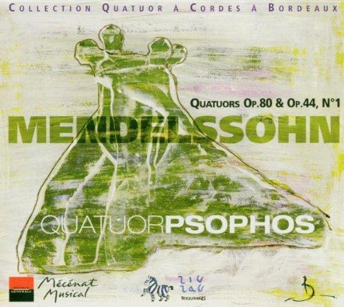 MENDELSSOHN - Quatuors op. 80 et op. 44 n°1