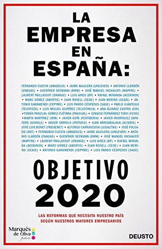 La empresa en España: objetivo 2020 por Varios autores