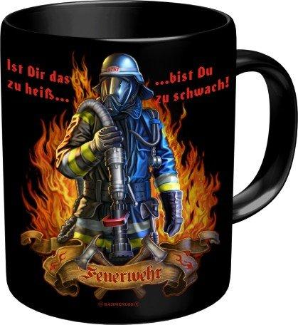 RAHMENLOS Kaffeebecher für Den Feuerwehrmann: Ist Das zu heiss…Im Geschenkkarton 2563