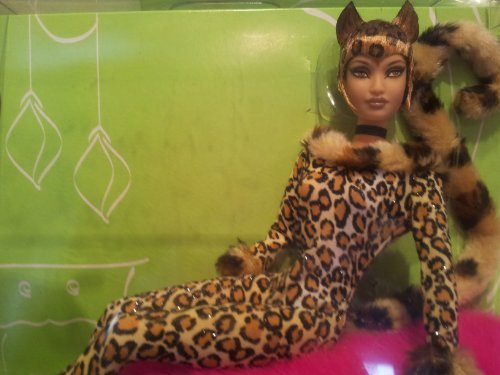 Barbie Collector # B3417 Loung Kitty Leopard (Leopard Kitty)