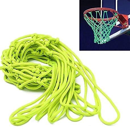 ETCBUYS Brilla en la oscuridad baloncesto aro de baloncesto Net y al aire libre Accesorios Reglamento tama o est ndar p