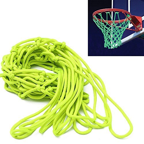 ETCBUYS Glow in The Dark Basketball Net - Outdoor Net and Basketball Hoop Accessories, Standard Regulation Size for Outside Basketball Rims, Kids Backboard and Rim -
