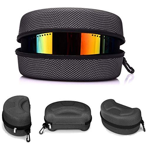 Casavidas Snow Ski Snowboard Goggles Glasses Protection Carrying Case Zipper Box Holder