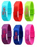 Best GENERIC Kids Birthday Gifts - Invincibles Kids Digital LED Band Watch. Silicone Jelly Review