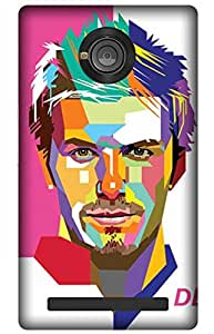 iessential football Designer Printed Back Case Cover for YU Yuphoria YU5010A