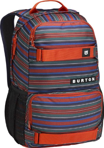 Burton zaino treble yell pack, multicolore (tommy stripe), 21 litri