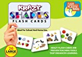 Krazy Shapes - Flash Cards With Ring