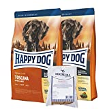 Happy Dog Supreme Sensible Toscana 2x12,5kg | Hundefutter | Lachs + Ente + Kräuter