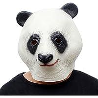 Queenshiny® maschera animale lattice (panda)
