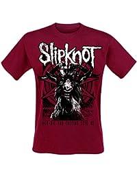 Slipknot Goat T-shirt rouge XL