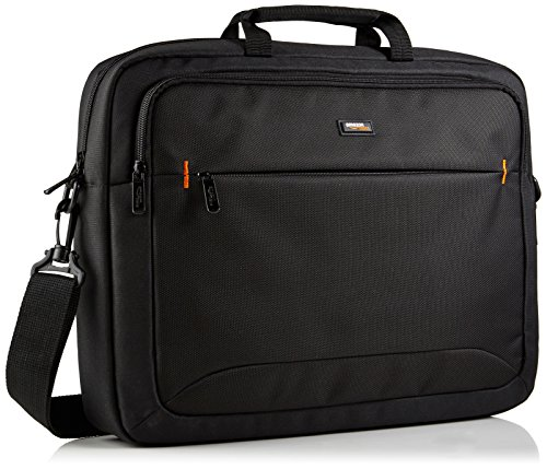 AmazonBasics NC1406118R1 Laptop-Tasche, für eine Bildschirmdiagonale von 44cm (17,3Zoll) Schwarz -