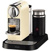 DeLonghi Nespresso Citiz & Milk White EN265CWAE - Cafetera monodosis (19 bares, preparación manual