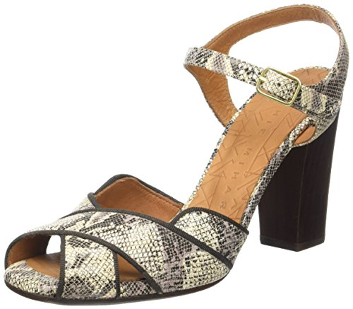Chie Mihara Adesi, Sandales Bride Cheville Femme Beige (Boa Tan)