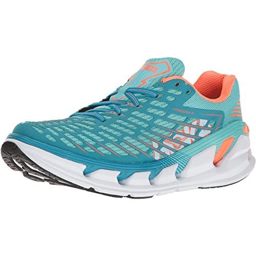 517FrIpC7pL. SS500  - HOKA ONE ONE Womens Vanquish 3 Low Top Lace Up Running Sneaker