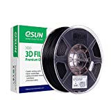 eSUN Nylon Filamento Relleno de Fibra de Carbono 1.75mm, ePA-CF Filamento de Impresora 3D,...