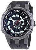 Perrelet  4024/1 - Reloj de automático para hombre, con correa de goma, color negro