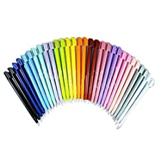 20x Tactile STYLETS Pour CONSOLE NINTENDO DS LITE NDSL DSI LL XL MULTICOULEURS plastique