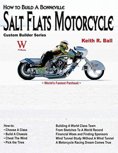H-T Build a Bonneville Salt Flats Motorcycle: World's Fastest Panhead (Custom Builder) - Bonneville Salt Flats