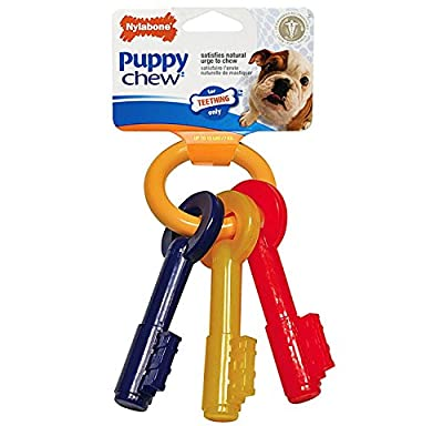 Nylabone Puppy Teething Keys, Small
