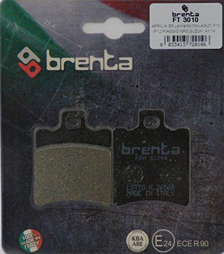 Brenta Pastiglie Freno Organiche Moto per Aprilia, Benelli, Beta, Garelli, Gilera, Honda, Malagut