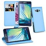 Cadorabo Hülle für Samsung Galaxy A3 2015 (5) in Pastel Blau
