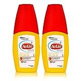 Autan Protection Plus Zeckenschutz Pumpspray 100ml - schützt bis zu 4 Stunden vor Zecken und bis zu 7 Stunden vor Mücken (2er Pack)