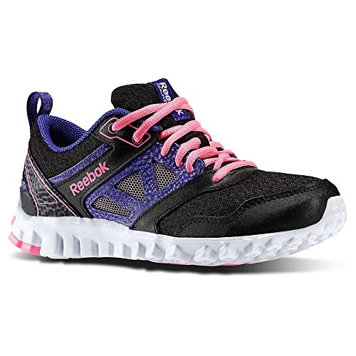 REEBOK enfant Chaussures Realflex Speed 3.0 - Couleur: Noir - Taille: 37