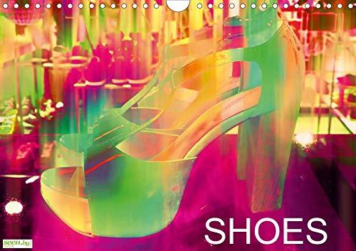 58ba8f0a1905b Shoes (Wandkalender 2020 DIN A4 quer): Ein Paar Schuhe verschieden und  farbenfroh verändert. (Monatskalender, 14 Seiten )