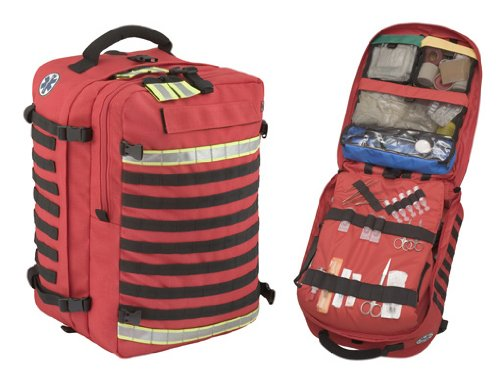 537d0b26f0f2 Red Paramedic Backpack