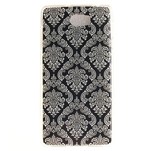 Cover Apple iPhone 7 (4,7 pollici), nancen Ultra Sottile Custodia morbida Custodia Cover TPU Silicone Case Cover di protezione Totem Fleur