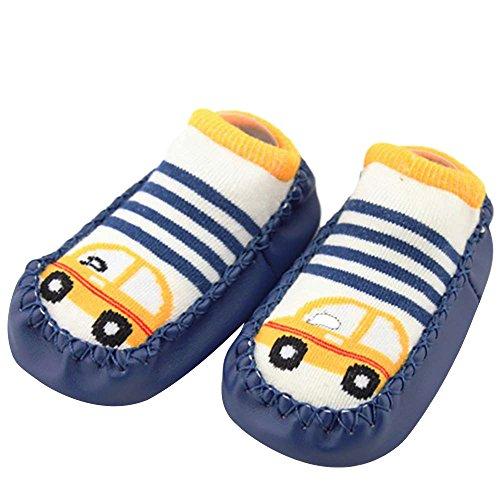 schuhe Mädchen Jungen Anti-Slip Socken Slipper Stiefel,Neugeborenes Baby Cartoon Neugeborenes Baby Mädchen Jungen Anti-Slip Socken Slipper Schuhe Stiefel ()