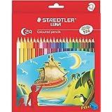 Staedtler Luna 24-Shade Coloured Pencil Set