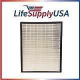LifeSupplyUSA LifeSupplyUSA 2 Pack HEPA Filter fits Alen Air Flex HEPA-Pure Purifier BreatheSmart