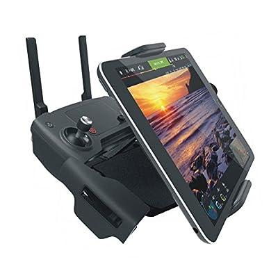 Bestmaple PGY DJI Mavic Pro Remote Control Accessories 7-10 Pad Mobile Phone Holder Aluminum Flat Bracket Tablte Stander Parts RC Drones