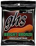 GHS BB30L Light 12-54 Bright-Set corde per chitarra acustica, colore: bronzo