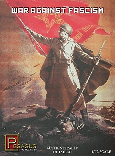 1/72 Pegasus 7267 WKII Russland Krieg dem Faschismus