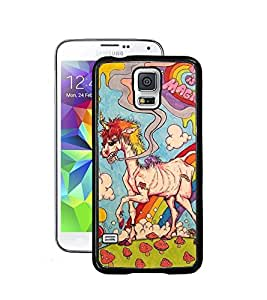 Aart Designer Luxurious Back Covers for Samsung S5 Mini + Lazy 360 Foldable Mobile Stand for Mobiles by Aart Store.