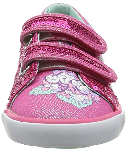 Start Rite Endless Summer, Chaussure bateau fille Rose (Pink Sparkle)