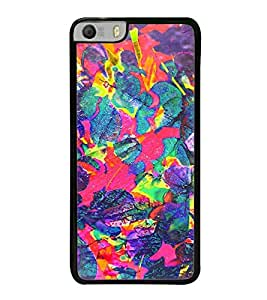 Fuson Designer Back Case Cover for Micromax Canvas Knight 2 E471 (uneven freehand drawing art craft)
