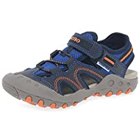 Geox Boys Jr Kyle a Closed Toe Sandals