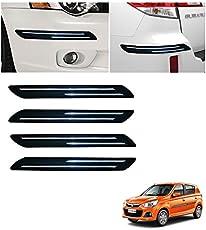 Autowheel Car Bumper Protector with Double Chrome Strip- Maruti Alto K10